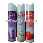 Car and home use air freshener spray with good smell 300ml strawberry flavor