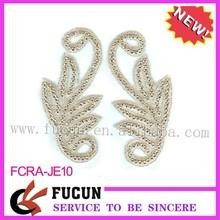 Silver/Gold Costume Sew on accessories Diamante Rhinestone Applique Crafts