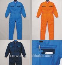antil-flame oil field work garment