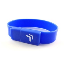 Your logo bracelet 2gb usb flash drive wholesale