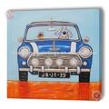 kinder auto bilder malerei wand hängende dekoration