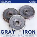 Polea de correa trapezoidal / piezas OEM de fundición de hierro gris / piezas para maquinaria de ingeniería