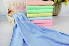 printed microfiber towel for car washing, hair salon
