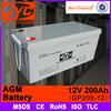 agm battery 12v 200ah,battery agm deep cycle battery,12v 200ah agm vrla battery