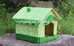 Sweet dog house luxury pet bed