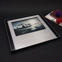 De lujo del estilo del aspecto negro y marcos de fotos de plata