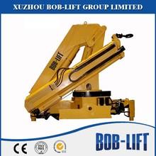 Truck mounted rc crane knuckle boom with hydraulic boom SQ8ZA3