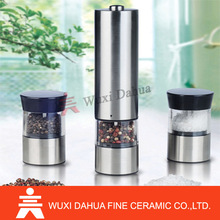 Eletric Cheap portable High Quality Top Quality 2 in 1 style electric custom pepper mill