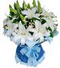 flower packing plastic mesh embellish the sleeve