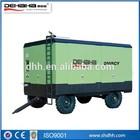 mining application Portable diesel engine screw air compressor