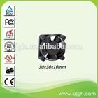 12/24 volt dc 30x30x10mm coooling fan