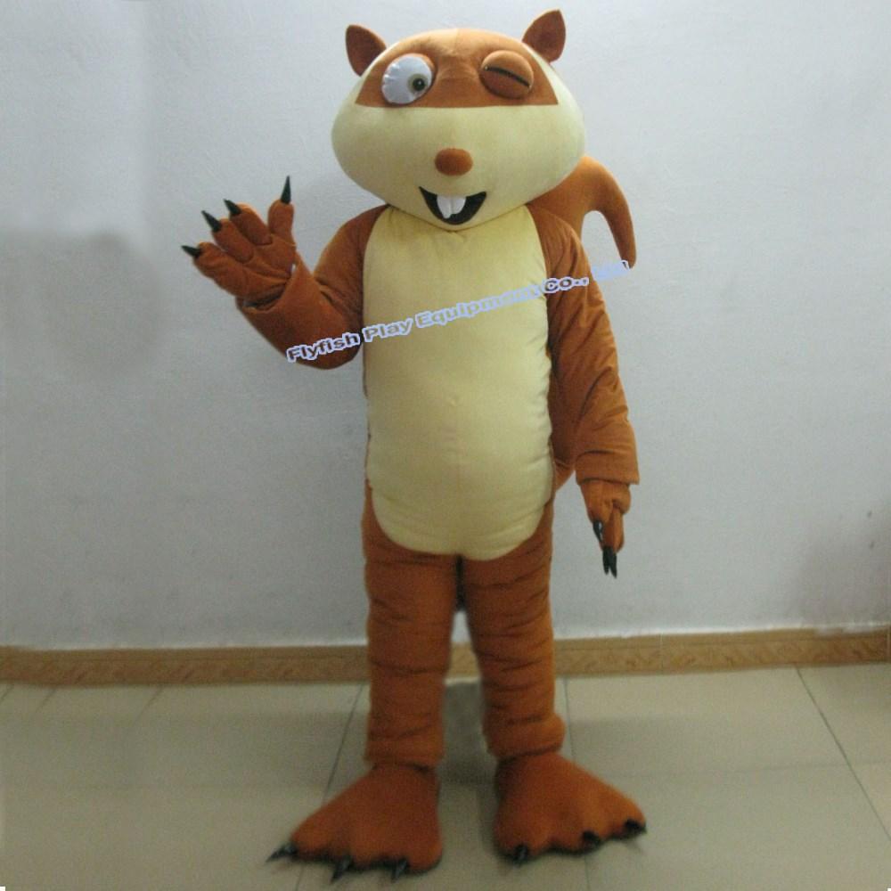 Squirrel Suit Costume Adult Squirrel Suit Mascot