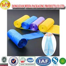 Bag Manufacturer 100% Biodegradable Multi Color Trash Bags Garbage Bags In Roll