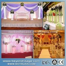 Beautiful wedding stage decoration stage magic illusions