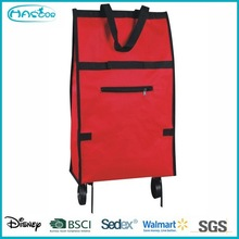 Outdoor easy promotional shopping trolley bag in different color