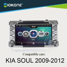 Iokone Car DVD Player For Kia Soul 2009 to 2012