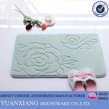 Latest Fashion Coral Fleece custom printed kitchen mat