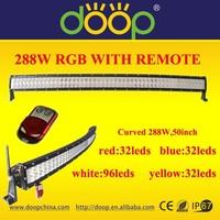 Flashlight LED Warning strobe light bar, off road led bar,multi color led light bar,red amber and blue color changing light bar