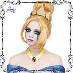 Blonde Princess Cinderalla zombie halloween costumes wigs