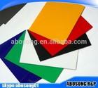 colorful transparent PMMA acrylic sheet/panel