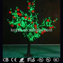 1.8M outdoor artificial apple trees for landscape decoration FZ-672-apple