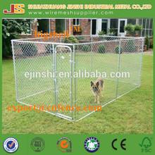 6'H x 5'W x 10'D Black Chain Link dog Kennel & dog run & dog fence panel