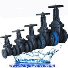 gost standard carbon steel gate valve pn25 dn250