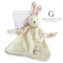 100% cotton romatic bunny baby bib velvet kids comforter