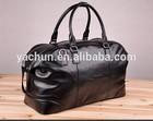 2014 high quality men cowhide commercial luggage travel bag genuine leather handbag shoulder tote duffel bag dual function bag