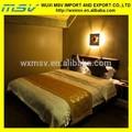 Colchas de cama do hotel, folhas de seda, hotel cama coleção conjuntos