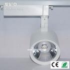 2014 30W High brightness adjustable cob led track spotlight/spot light bulb