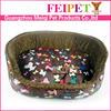 dark brown fleece luxury pet dog beds round pet beds wholesale