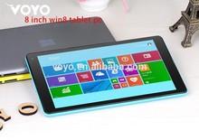 Best price VOYO A1 mini windows tablet pc with RFID smart card reader, fingerprint reader,barcode scanner