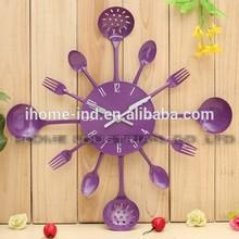 16 inch metal decorative kitchen wall clock