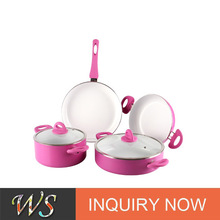 6pcs pyrex glass cookware set