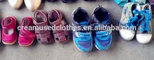 fashional barato de roupas de segunda mão e sapatos criança