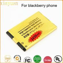 Hot sell 9790 9900 9930 Gold Battery For blackberry cellular phone battery