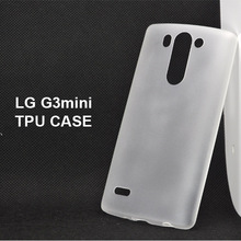 2014 new item !!! for LG G3 mini soft ultra thin tpu cell phone case
