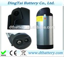 bottle battery li-ion 36v 10ah lithium ion bottle style battery for 36v e-bike battery for 36v 350W motor