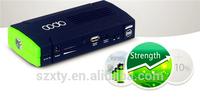rohs promotional cooprate gift portable 12V 19V emergency mini car jump starter power bank charger