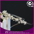 Accesorios para el cabello de madera de las vendas de novia de fiesta de boda de la Tiara de la corona