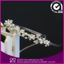 hair accessories wooden headbands Bridal Prom Tiara wedding crown
