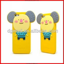 2015 new arrivel products cute phone case,3D silicone mobile phone case