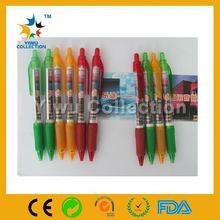banner ballpen,click banner pen,top grade plastic banner ball pens