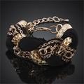 Nuovo signore di modo braccialetto di fascino,ingrosso regalo di natale per amici della ragazza