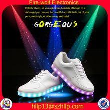 Spain girls led glow shoe football led glow shoe