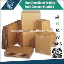 China alibaba 3/5ply custom printing strong packaging and shipping corrugated box
