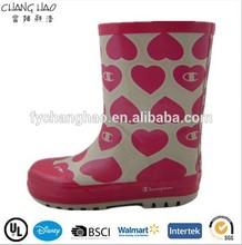 CH.C (91) Waterproof Yong girl half boots walmart rubber wellington boots