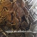 la producción en masa pequeña de acero al carbono hojas decorativas