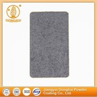 Dry conductively recyclable non toxic solid coating